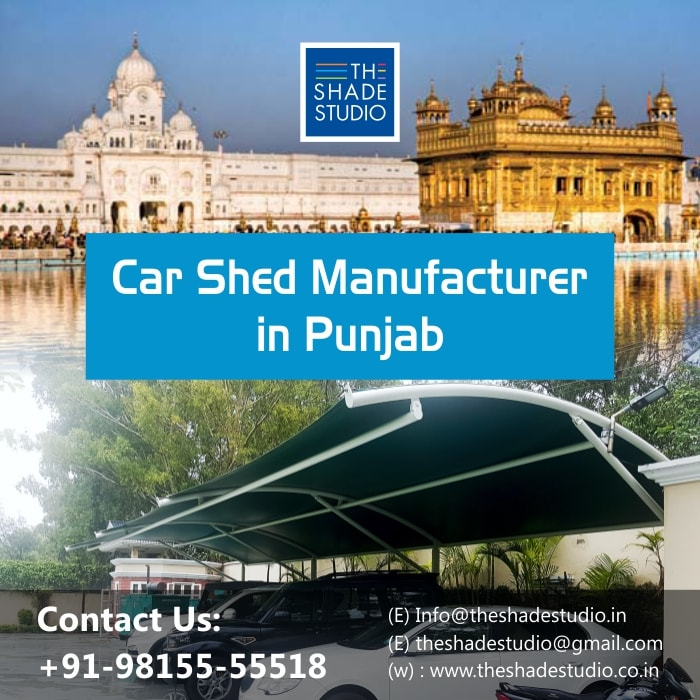 Car Parking Shed Manufacturer in Punjab