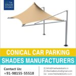 Conical Car Parking Shades Manufacturers