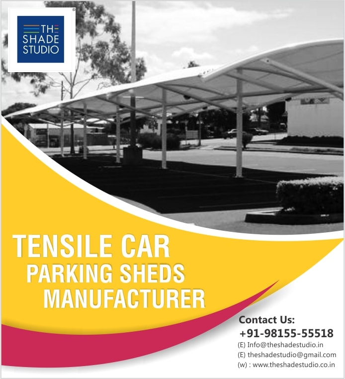 Tensile Car Parking Shed Manufacturer