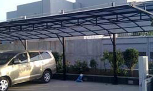 Car Parking Sheds for Hospitals