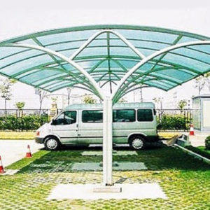 Car Parking Shed Designs For Government Institutes