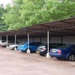 Car Parking Shed for Hotels