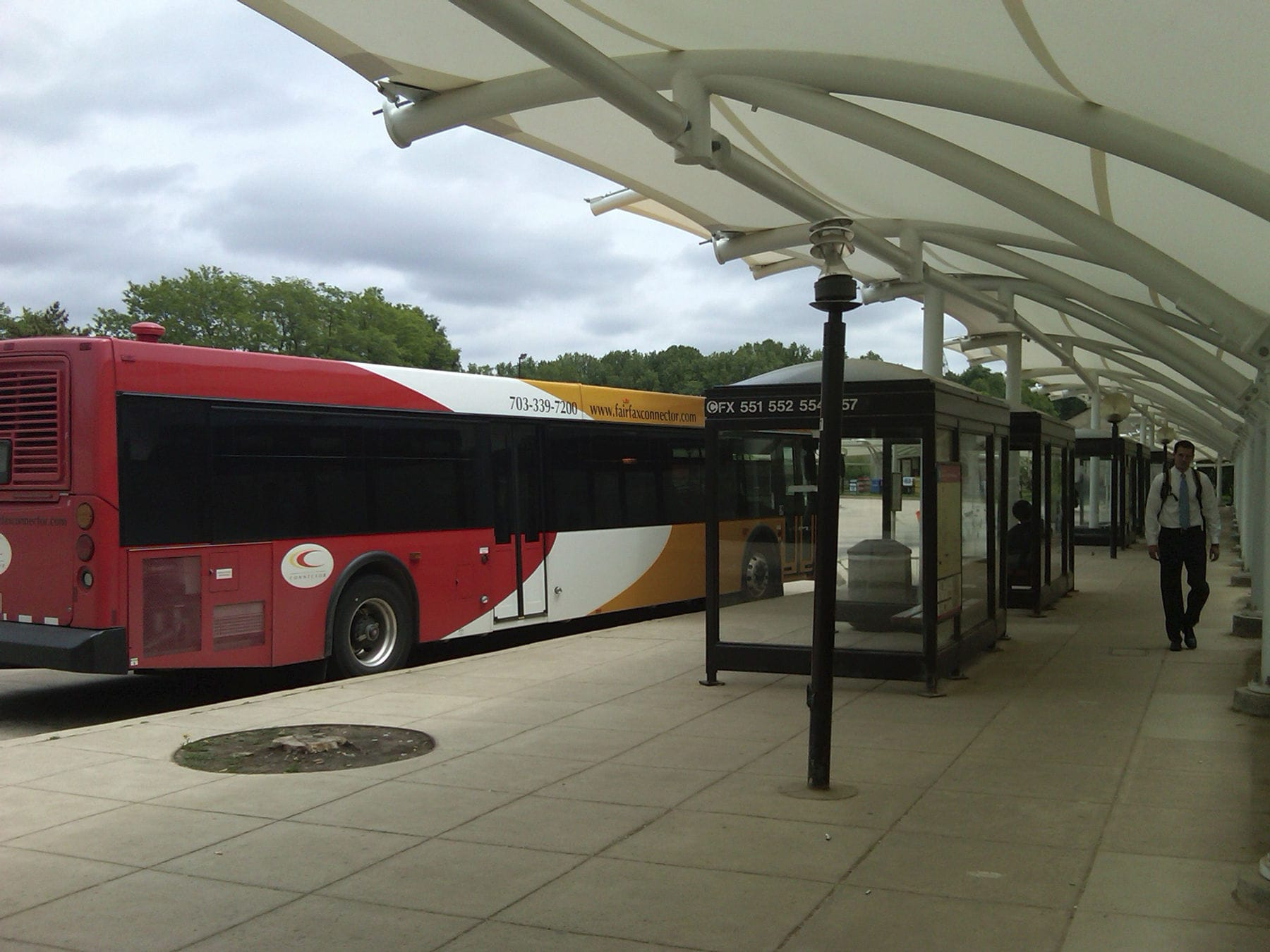 Tensile Membranes Structure For Public Transport